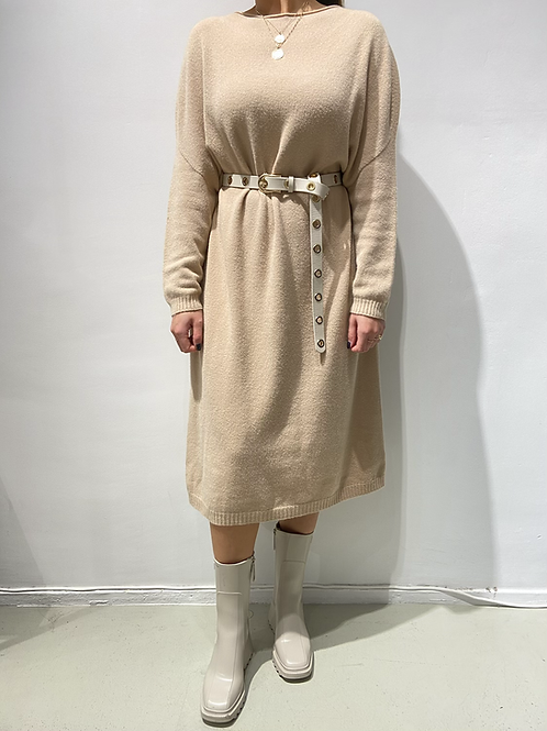 Dress Alex camel