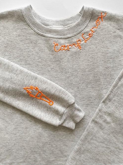 Custom Hand Embroidered Sweatshirt