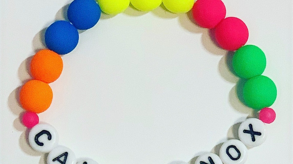 Large Neon Bracelet