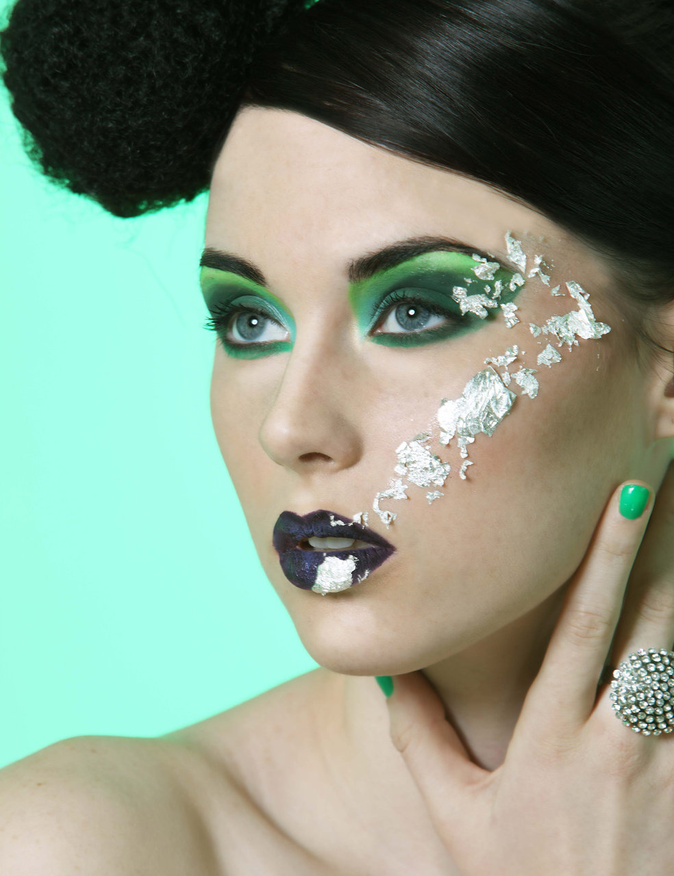 avant garde hair and makeup artist
