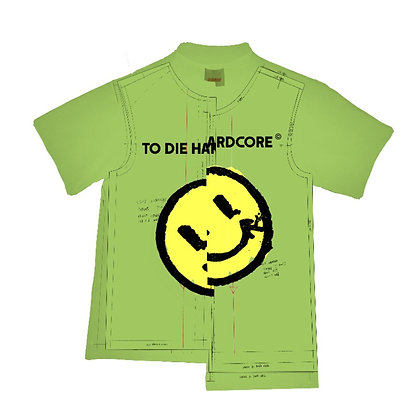 Unfinished T-shirt - Green