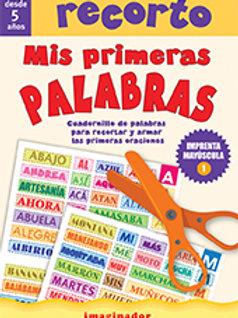 RECORTO MIS PRIMERAS PALABRAS
