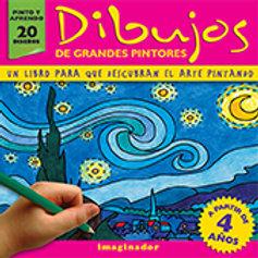 DIBUJOS DE GRANDES PINTORES (infantil)