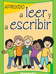 APRENDO A LEER Y A ESCRIBIR 1 (2RA.EDICION)