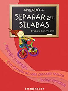 APRENDO A SEPARAR EN SILABAS (2DA.EDICION)
