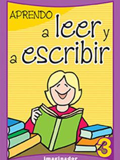 APRENDO A LEER Y A ESCRIBIR 3 (2DA.EDICION)