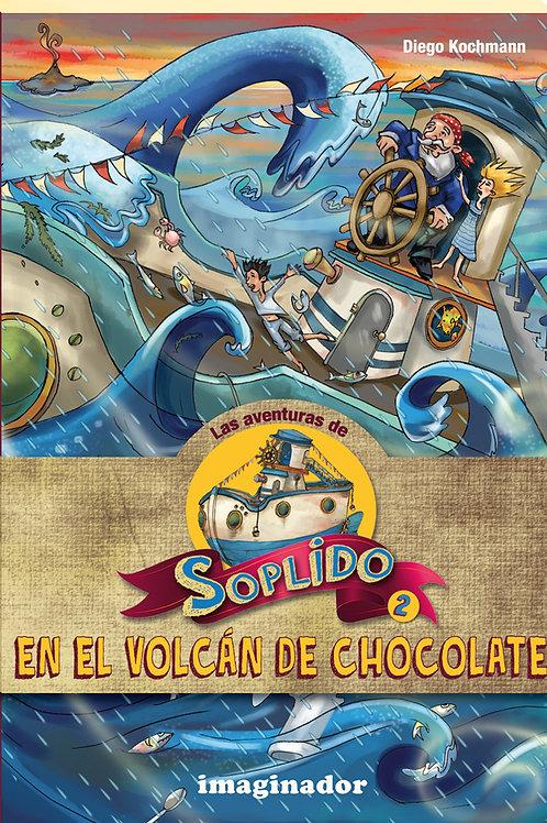 SOPLIDO EN EL VOLCAN DE CHOCOLATE