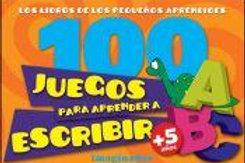 100 JUEGOS PARA APRENDER A ESCRIBIR