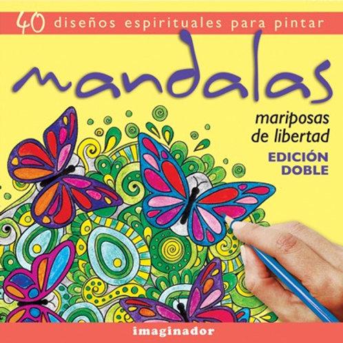 Mandalas: Mariposas de libertad