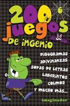 200 JUEGOS DE INGENIO 6 (EDICION BLACK)