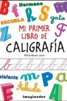 MI PRIMER LIBRO DE CALIGRAFIA