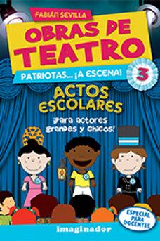 OBRAS DE TEATRO 3.PREPARATE DISPARATE. ACTOS ESCOLARES