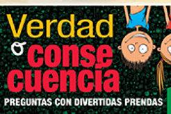 VERDAD O CONSECUENCIA 7/8 AÑOS + ALBUM