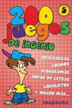 200 JUEGOS DE INGENIO 5