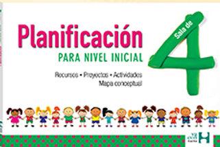 PLANIFICACION PARA NIVEL INICIAL. SALA DE 4