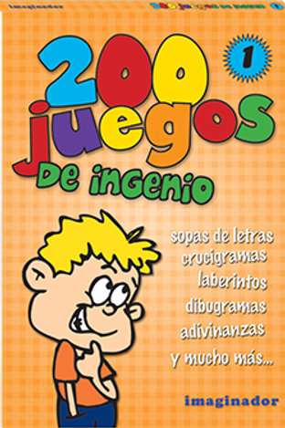 200 JUEGOS DE INGENIO 1