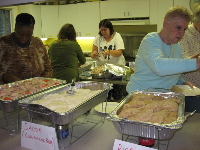 Zimbabwe foods dinner October 14