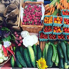 Légumes ferme petite récolte