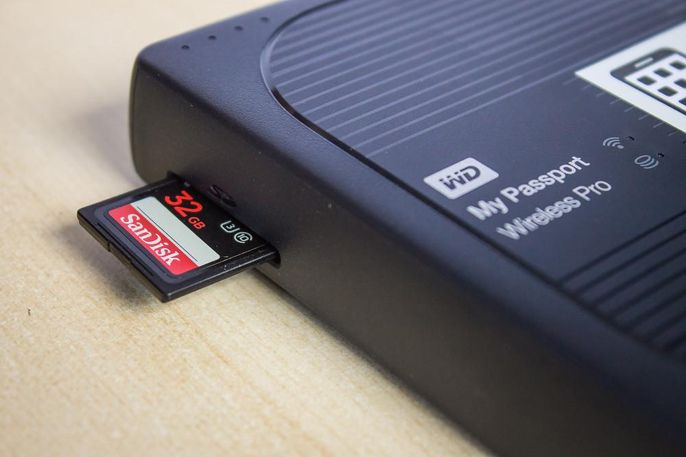 SD Memory-Card Slot