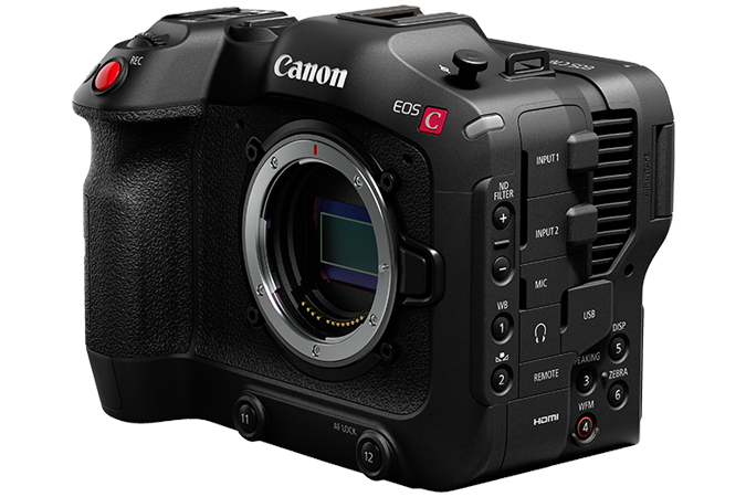 Canon EOS C70 body video shoot