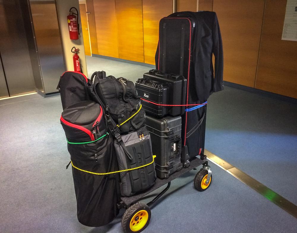 GRIPNGAFF Bag and Rock N Roller Cart