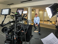 teleprompter, autocue, austria, vienna, video crew, camera team, testimonial, interview, corporate, business, script, video production, cameraman, videographer, ceo, production lights