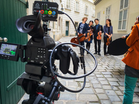 Producing a Crowdfunding Video - Pacific Quartet Vienna