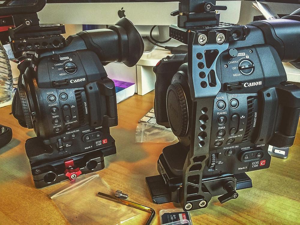 Canon C100 Mark II with SmallRig Accessories