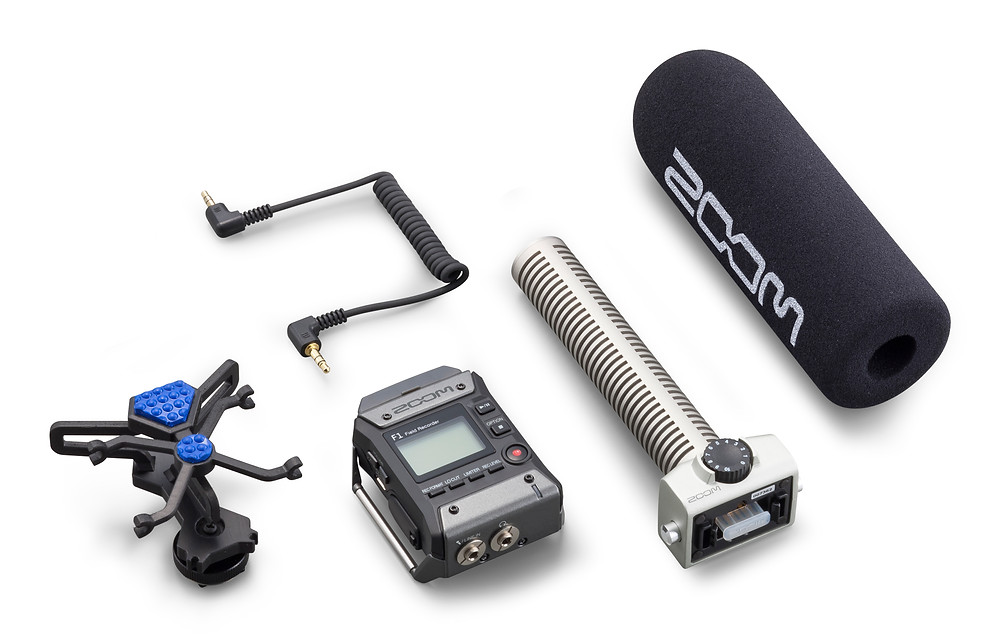 Zoom F1 Field recorder accessories