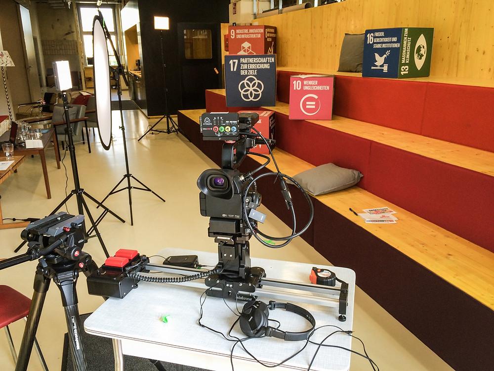 Single camera set-up