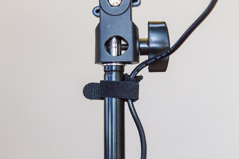 Velcro Strap on Light Stand