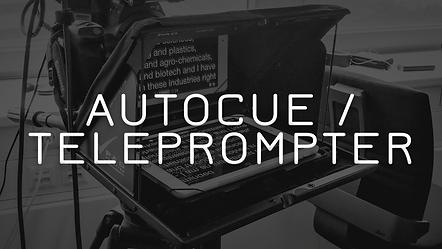 Teleprompter autocue video service vienna austria