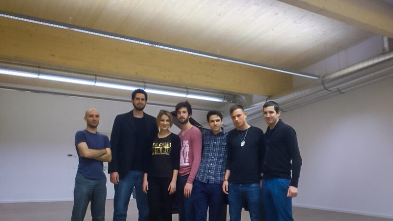 The cast and crew for NP3's teaser video