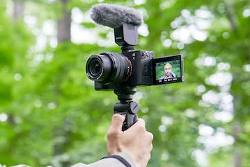 Sony a7c video shoot vlog