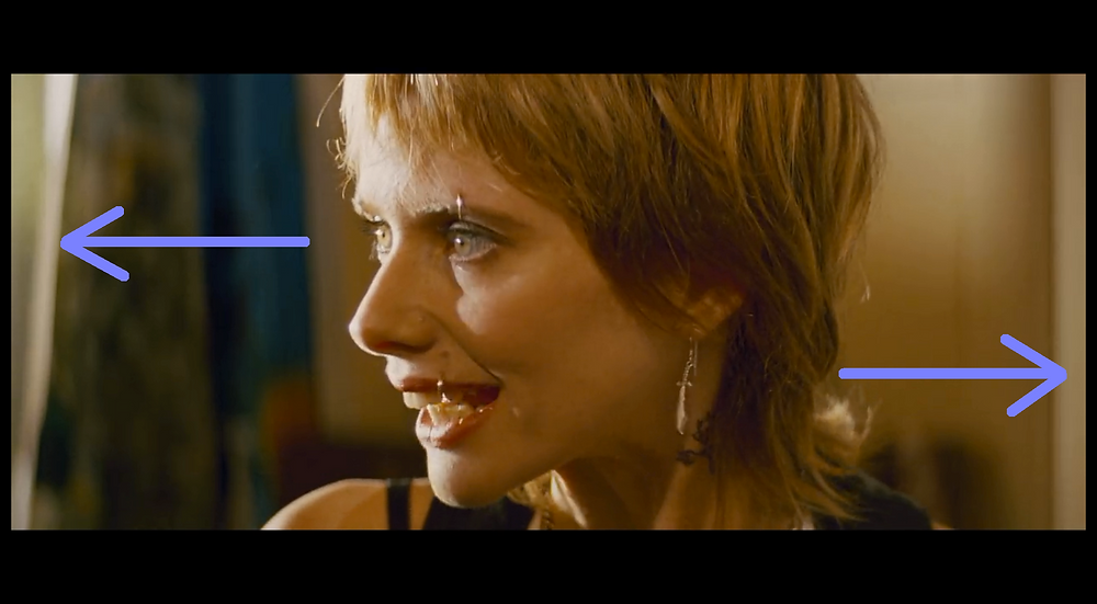 Close up Shot of Rosanna Arquette (Jody) - Pulp Fiction