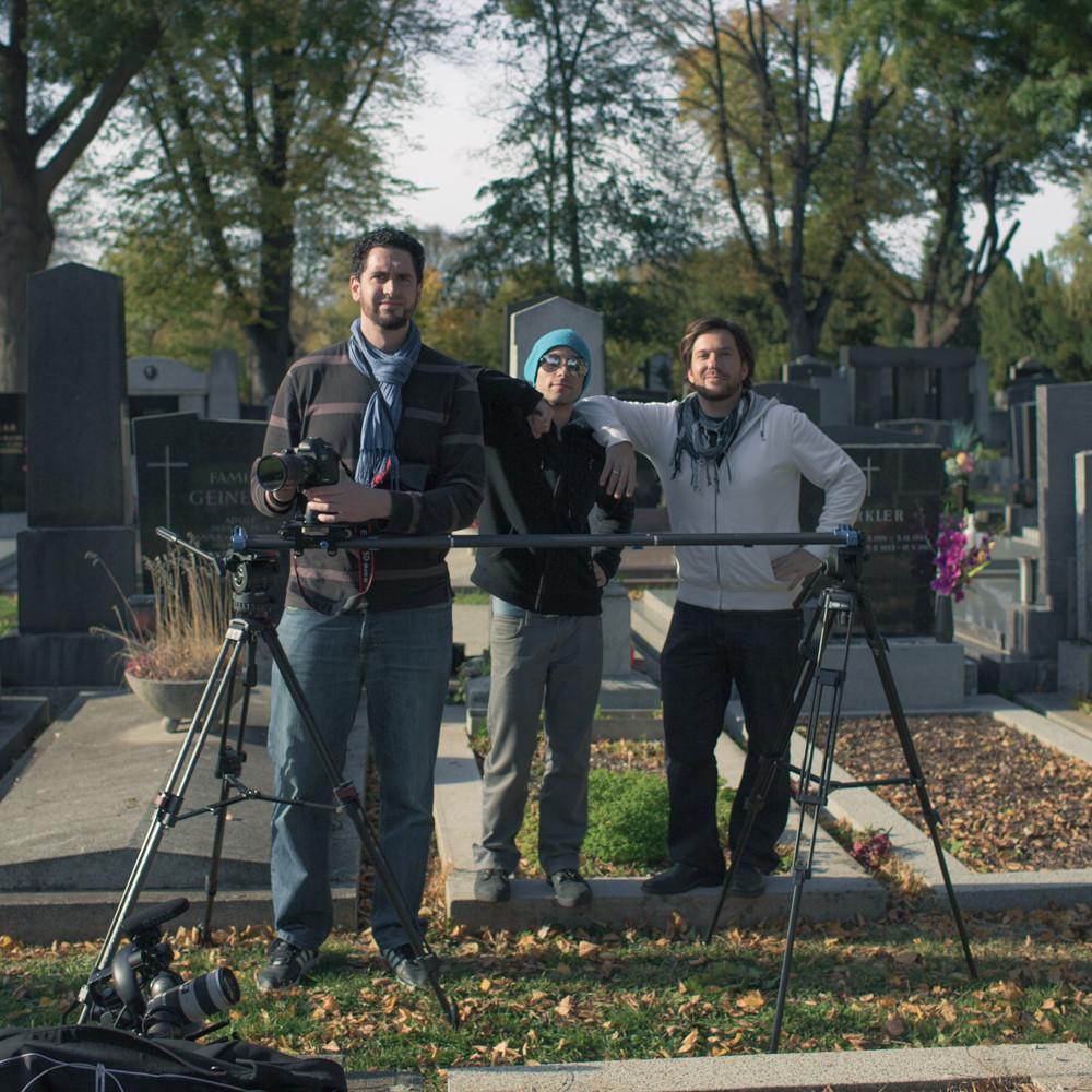 Camera crew in Vienna
