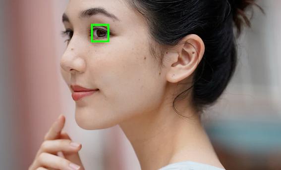 eye detect video shoot