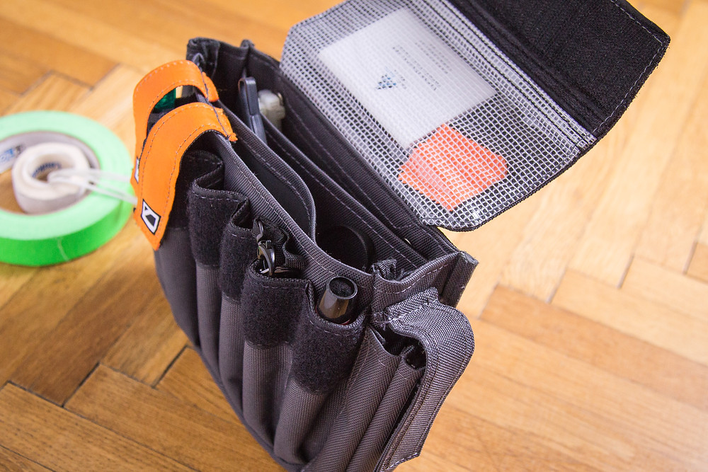Compartments of the Cinebag CB-03