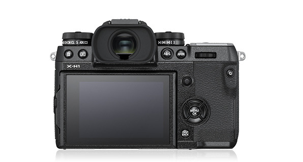 Fujifilm X-H1 Mirrorless Camera back