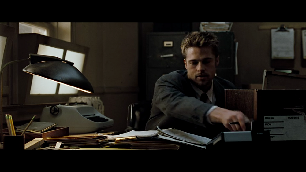 David Fincher Film Analysis - Head on shot