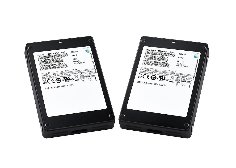 Samsung PM1643 SSD 30TB