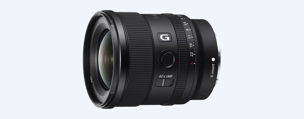 Sony FE 20mm F1.8 G videographer shoot