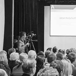 conference event austria presentation filming coverage