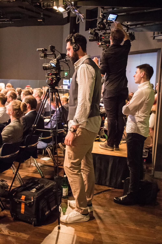 camera operator conference coverage vienna austria