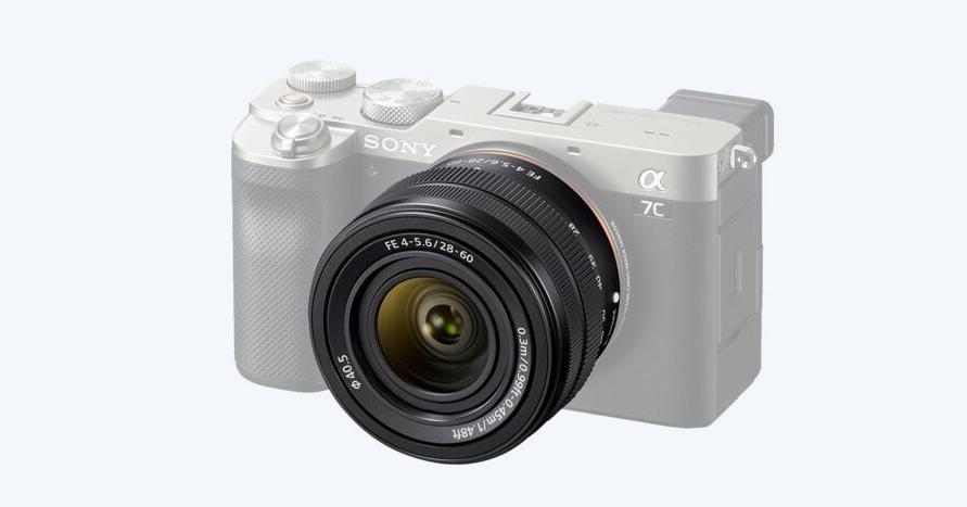 Sony FE 28–60 mm F4–5.6 kit lens