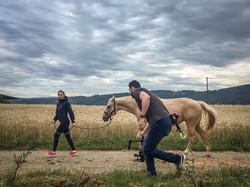 Filming in Austria