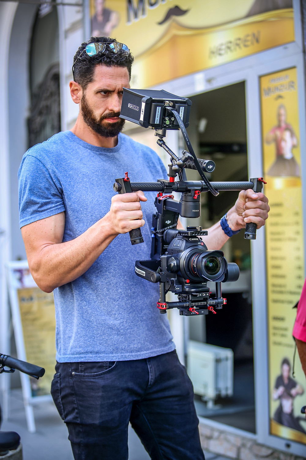 Vitor Goncalves high end camera operator vienna austria