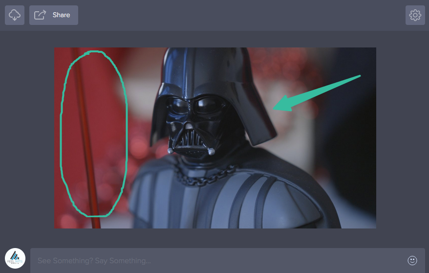 Annotation Tool in Frame.io