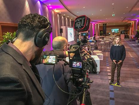 film testimonial interview video event shoot