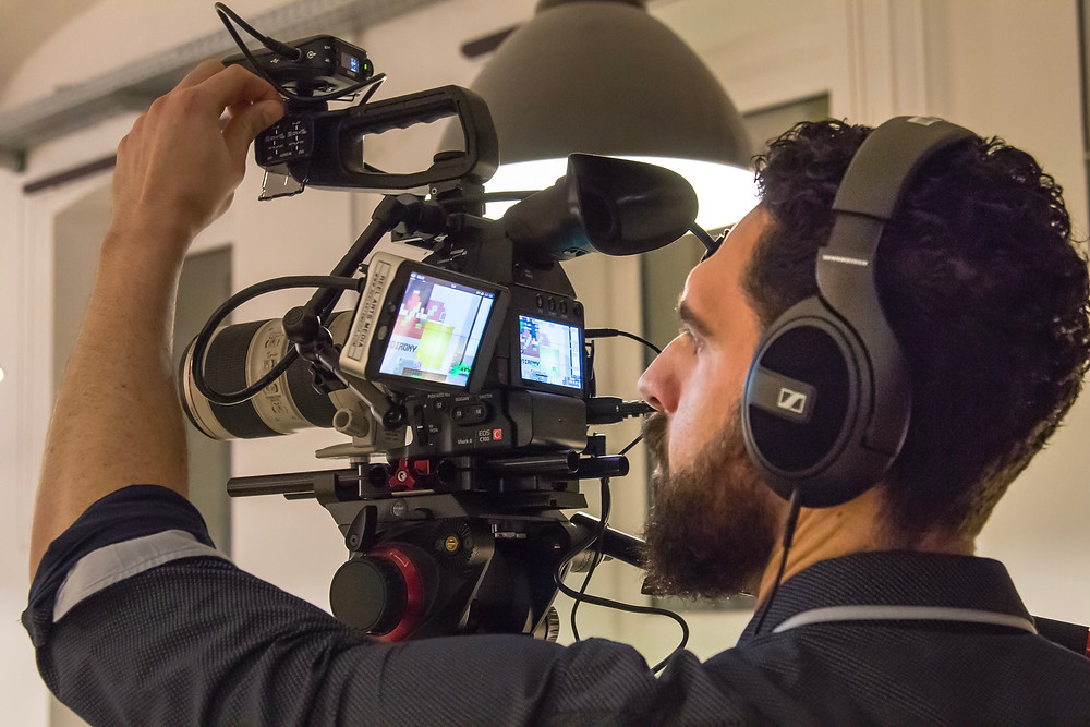 Cameraman with SmallHD 501
